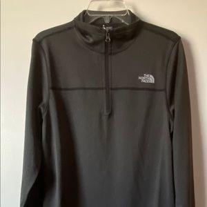 North Face Pullover Jacket, Men's, Black, S